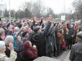 В Лиде прошел стихийный митинг протеста