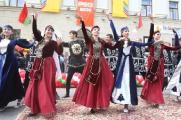 Более полутора тысяч человек приняли участие в открытии VIII Республиканского фестиваля национальных культур в Гродно