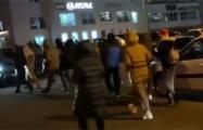 По Миску продолжают гулять колонны протестующих