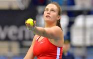 Cоболенко войдет в топ-50 рейтинга WTA и станет первой ракеткой Беларуси