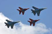 «Русским витязям» запретили участвовать в швейцарском авиашоу