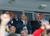 Лукашенко, Путин и Рахмон встретились на стадионе