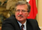 Бронислав Коморовский лидирует на президентских выборах в Польше