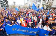 В Германии проходят массовые акции за единую Европу