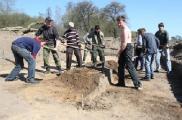 Средневековое кладбище стало одним из объектов раскопок в зоне строительства Неманской ГЭС