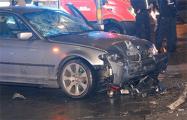 В Берлине автомобиль протаранил толпу