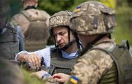 Зеленский посетил позиции ВСУ на Донбассе