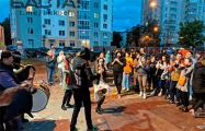 Фолк-группа Lity Taler поддерживала дух свободы на «площади Перемен»
