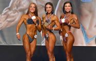 Минчанка стала чемпионкой Европы по бодифитнесу