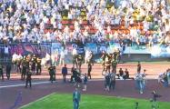 Видеофакт: ОМОН гоняется за болельщиками на финале Кубка Беларуси