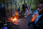 В Сербии местные жители устроили блокаду центра для беженцев