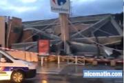 В универмаге под Ниццей обрушилась крыша
