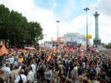 Общенациональная забастовка во Франции собрала 2,5 миллиона человек
