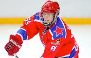 Белорусский хоккеист будет играть за молодежную сборную России