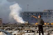 Выжившим после взрывов в Тяньцзине оказался пожарный