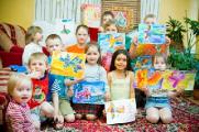 Рисунки воспитанников Ждановичского детского дома будут выставлены на благотворительный аукцион