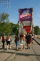 Фестиваль Sziget под бело-красно-белыми флагами (Фото)