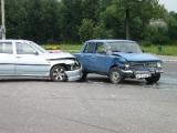 На Орловской столкнулись сразу несколько автомобилей (Фото)