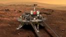 Китайский космический аппарат совершил посадку на Марс. Первые кадры с Красной планеты