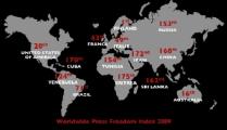«Репортеры без границ» привели Беларусь в качестве отрицательного примера