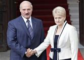 Грибаускайте против санкций в отношении Беларуси