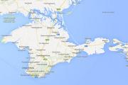 Google сделала Крым российским на картах для рунета