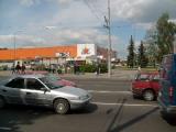 Два ДТП произошли в одно время на ул.Кальварийской в Минске