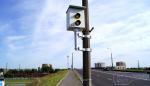 В Бресте закрасили краской камеры контроля скорости