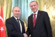 Путин и Эрдоган обсудили развитие ситуации в Сирии