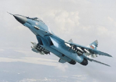 В Беларуси во время плановых полетов разбился самолет МИГ-29: погибли два летчика