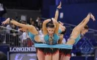 Белорусские грации не попали в число призеров чемпионата мира в упражнениях с мячом и с лентой