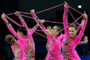 Сборная Беларуси взяла бронзу на чемпионате мира по художественной гимнастике в групповых упражнениях