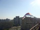 Европейский флаг в центре Минска (Фото)