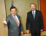 Президент  Европарламента встретился с Милинкевичем
