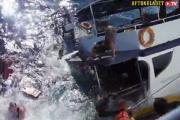 Шведский дайвер снял кораблекрушение на видеокамеру