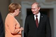Путин и Меркель поддержали отправку миссии ОБСЕ на Украину