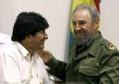 Фидель Кастро и Эво Моралес вступились за палестинцев