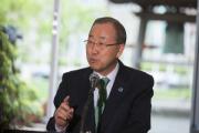 Пан Ги Мун порекомендовал избрать новым генсеком ООН женщину