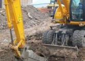 При строительстве гостиницы «Пекин» нашли четыре мешка костей