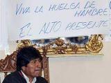 Президент Боливии объявил голодовку