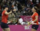 Две белорусские теннисистки вышли в полуфинал парного разряда Кубка Кремля