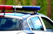Фотофакт: водители БМВ заблокировали милицейский патруль в Минске