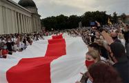 «Путь свободы» от Вильнюса до границы с Беларусью собрал более 50 тысяч человек
