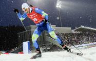 Белорусский биатлонист завоевал бронзу на кубке ИБУ в Австрии