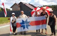 Міліцыя затрымала актывістак, якія вярталіся ў Віцебск пасьля варты ў Курапатах