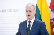 Гитанас Науседа: Литва может отказаться от углубления отношений с Беларусью