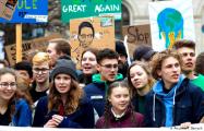 Шведская школьница вывела на улицы Берлина свыше 20 тысяч подростков