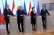 Премьеры стран Вышеградской группы осудили репрессии в Беларуси и России