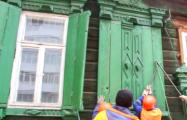 В Гомеле снесли очередной образец деревянного зодчества