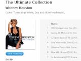 Фанаты заставили Sony снизить цену на альбом Уитни Хьюстон